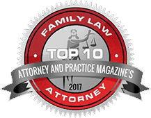 Attorney and Practice Magazine Family Law Badge